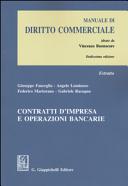 Contratti d impresa e operazioni bancarie  Estratto da   Manuale di diritto commerciale   PDF