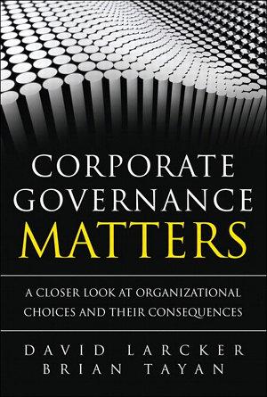 Corporate Governance Matters PDF