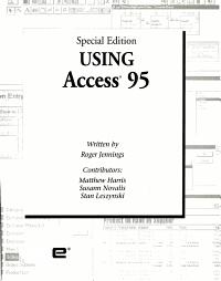Using Access 95 PDF