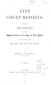 City Court Reports