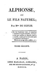 Alphonse, ou le fils naturel: Volume2