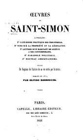 Oeuvres de Saint-Simon