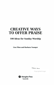 Creative Ways to Offer Praise PDF