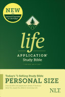 NLT Life Application Study Bible, Third Edition, Personal Size (Hardcover)