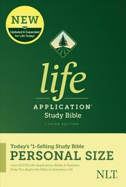 NLT Life Application Study Bible  Third Edition  Personal Size  Hardcover