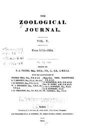 The Zoological Journal: Volume 5