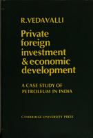 Private Foreign Investment and Economic Development PDF