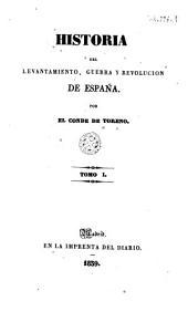 Historia del levantamiento, guerra y revolución de España, 1