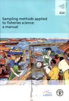 Sampling Methods Applied to Fisheries Science PDF