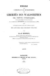 Mémoires et documens