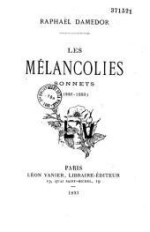 Les mélancolies: sonnets