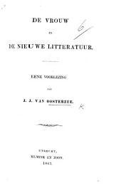 De Vrouw en de nieuwe Litteratuur: eene voorlezing