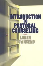 Introduction to Pastoral Counseling PDF
