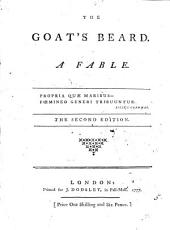 The Goat's Beard. A Fable: Volume 5