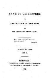 Anne of Geierstein; Or, The Maiden of the Mist: Volume 2