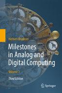 Milestones in Analog and Digital Computing PDF