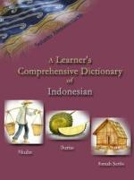A Learner's Comprehensive Dictionary of Indonesian