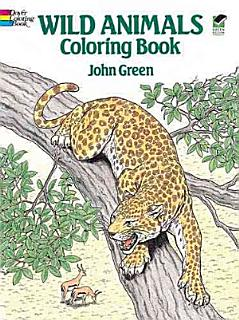 Wild Animals Coloring Book Book