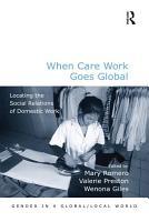 When Care Work Goes Global PDF