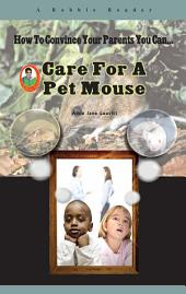 Care for a Pet Mouse