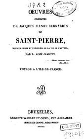 Voyage à l'Ile-de-France