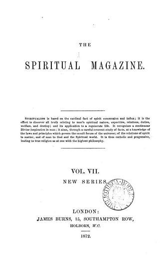The Spiritual Magazine PDF