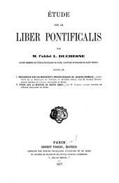 Étude sur le Liber pontificalis