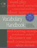 Vocabulary Handbook