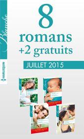 8 romans Blanche + 2 gratuits (no1226 à 1229 - juillet 2015): Harlequin collection Blanche