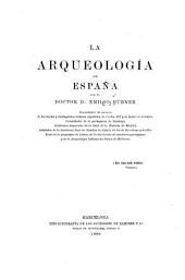 La arqueología de España