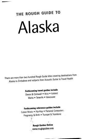The Rough Guide to Alaska PDF