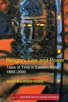 Religion  Law and Power PDF