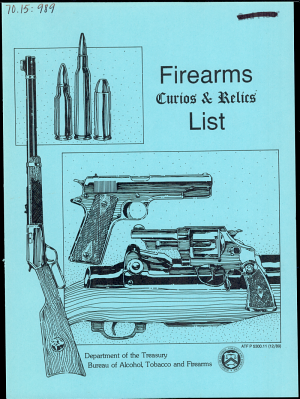 Firearms Curios and Relics List