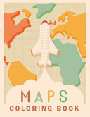 Maps Coloring Book
