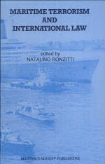Maritime Terrorism and International Law