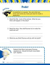 Read & Succeed Comprehension Level 1: Prediction Passages and Questions
