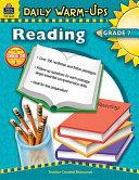Daily Warm Ups  Reading Grade 7 PDF