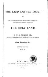 The Land And The Book Book PDF