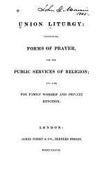 Union Liturgy