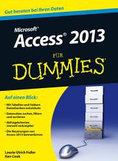 Access 2013 fÃ1⁄4r Dummies