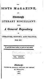 The Scots Magazine and Edinburgh Literary Miscellany