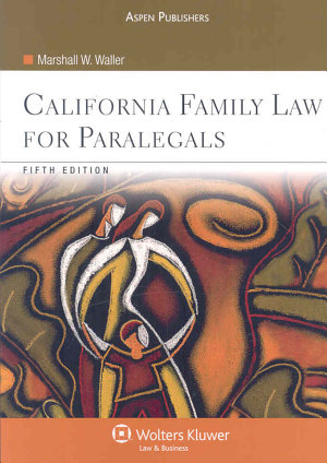 California Family Law for Paralegals PDF