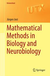 Mathematical Methods in Biology and Neurobiology