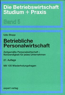 Betriebliche Personalwirtschaft PDF