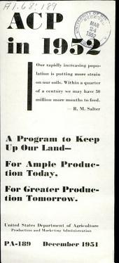 Program aid: Issue 189