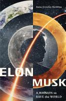 Elon Musk  A Mission to Save the World PDF