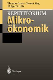 Repetitorium Mikroökonomik