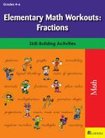 Elementary Math Workouts  Fractions PDF