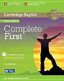 Complete First - Second Edition. Student's Book Without Answers with CD-ROM