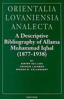 A Descriptive Bibliography of Allama Muhammad Iqbal  1877 1938  PDF